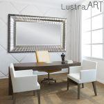 Lustro srebrne designerskie LS222a